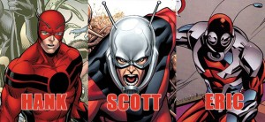 Three of the Ant-Man