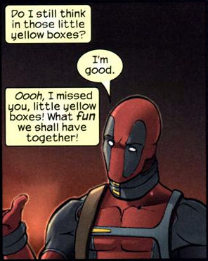 Deadpool's Fourth-wall breaking continues