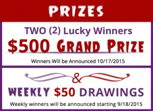 Sweepstakes details