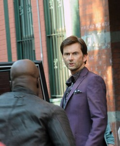 David Tennant's Purple Man